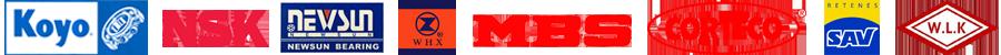 marcas-proveedores-KOYO-NSK-NEWSUN-WHX-MBS-CORTECO-SAV-WLK
